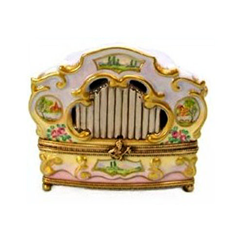 Chanille Calliope Organ Limoges Box