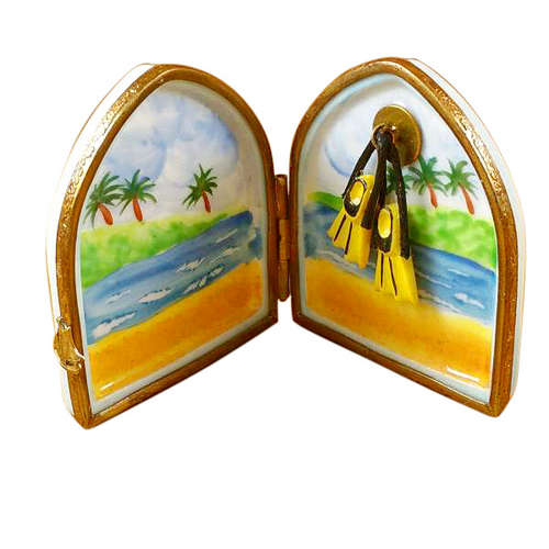 Magnifique Divers Flippers in Window Limoges Box
