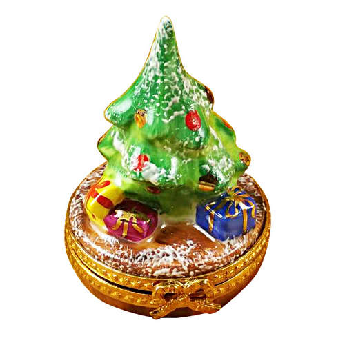 Magnifique Tiny Christmas Tree Limoges Box