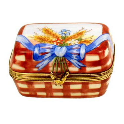 Magnifique Easter Eggs in Carton with Chick Limoges Box