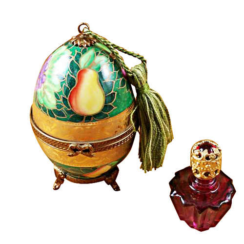 Magnifique Anastasia Egg with Perfume Limoges Box