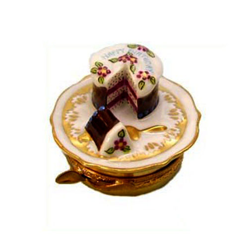 Artoria Birthday Cake Limoges Box
