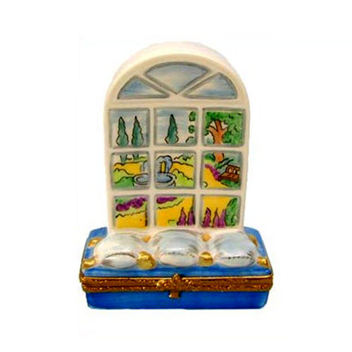 Artoria Garden Window Limoges Box