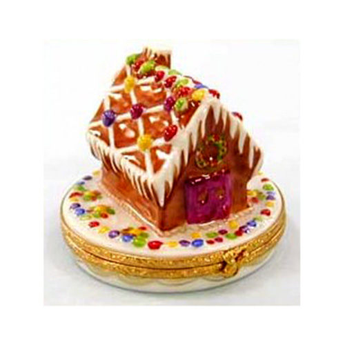 Artoria Gingerbread House Limoges Box