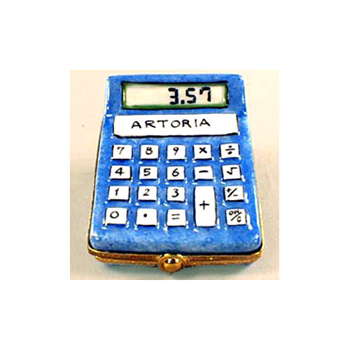 Artoria Multi-function Calculator Limoges Box