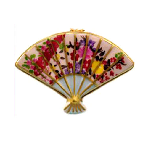 Artoria Oriental Fan Limoges Box
