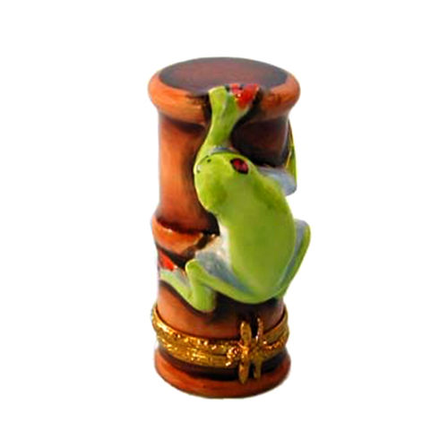 Artoria Red Eyed Tree Frog Limoges Box