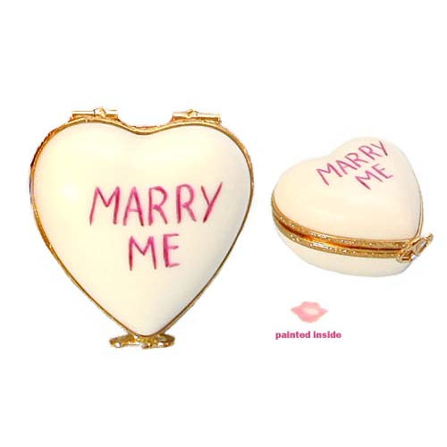 Artoria Candy Heart - Marry Me Limoges Box
