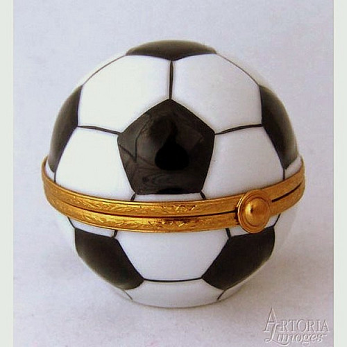 Artoria Soccer Ball Limoges Box
