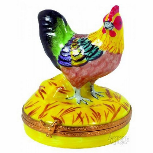 Artoria Small Rooster Limoges Box