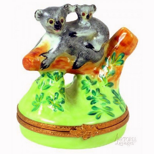 Artoria Koala Bear Limoges Box