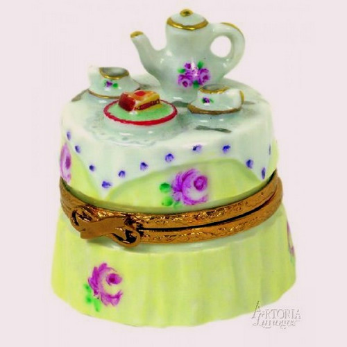 Artoria Garden Tea Party Limoges Box