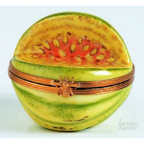 Artoria Open Melon Limoges Box