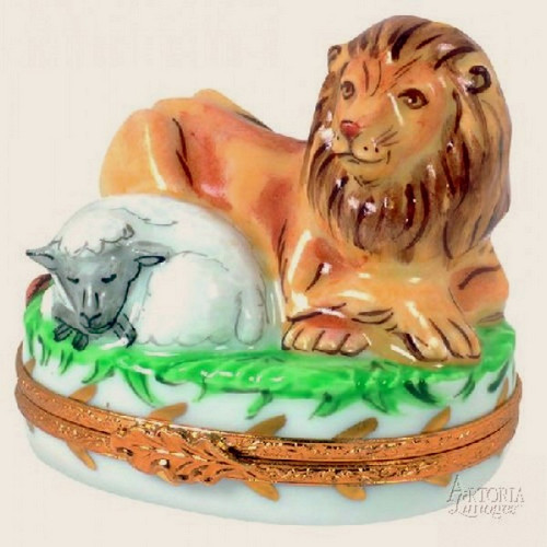 Artoria Lion and Lamb Limoges Box