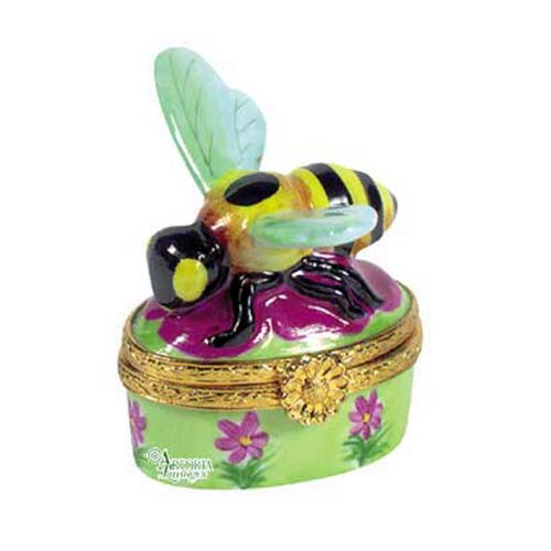 Artoria Mini Bee Limoges Box