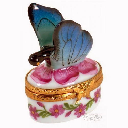 Artoria Mini Butterfly Limoges Box