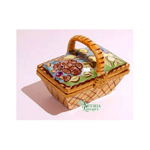 Artoria Basket with Vegetables Limoges Box