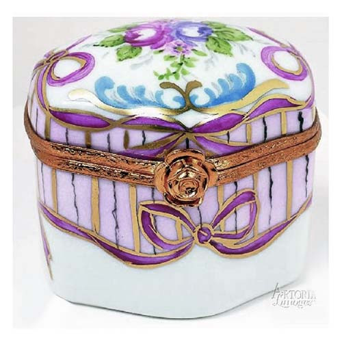 Artoria Odd Shape- 4 Perfume Bottles Limoges Box