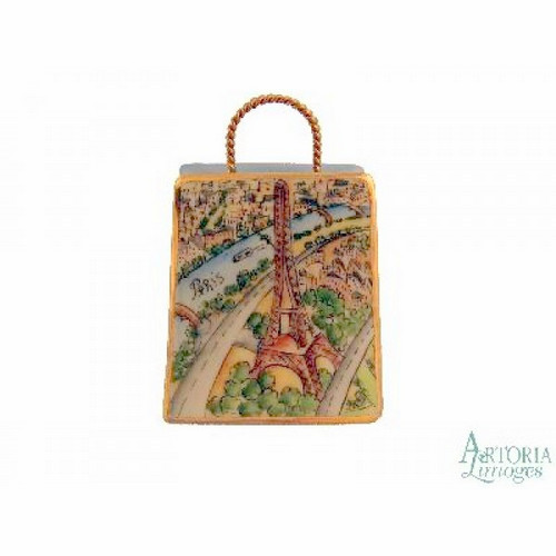 Artoria Eiffel Tower Modern Bag Limoges Box