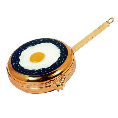 Artoria Frying Pan with Eggs Limoges Box