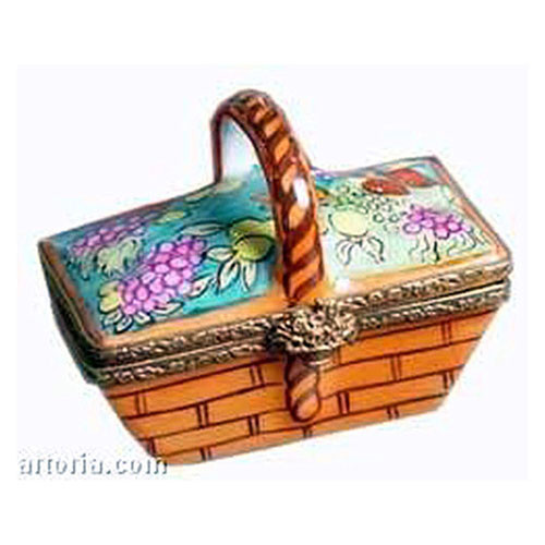 Artoria Basket with Fruits Limoges Box
