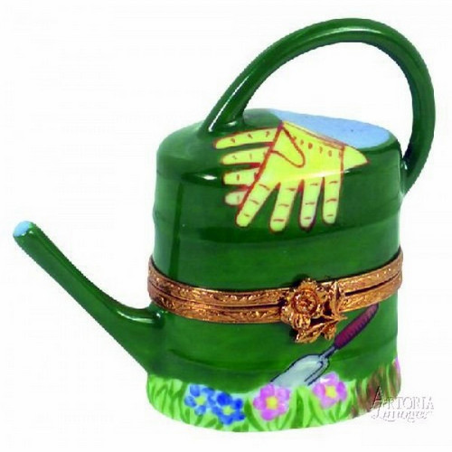 Artoria Watering Can: Green Limoges Box