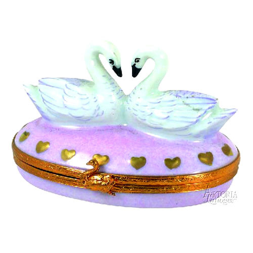 Artoria Swans in Love Limoges Box