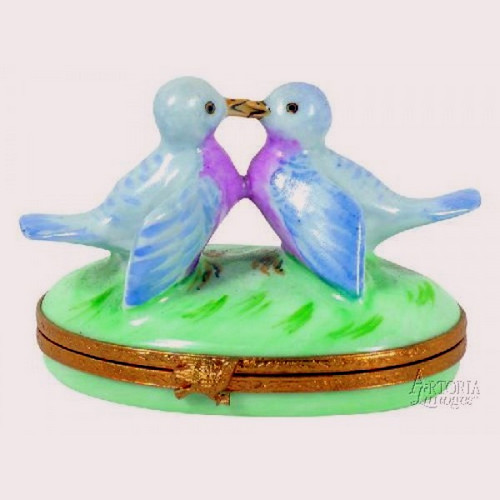 Artoria Bluebirds in Love Limoges Box
