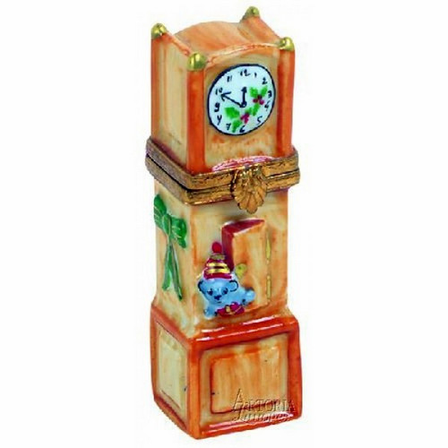 Artoria Grandfather Clock Limoges Box
