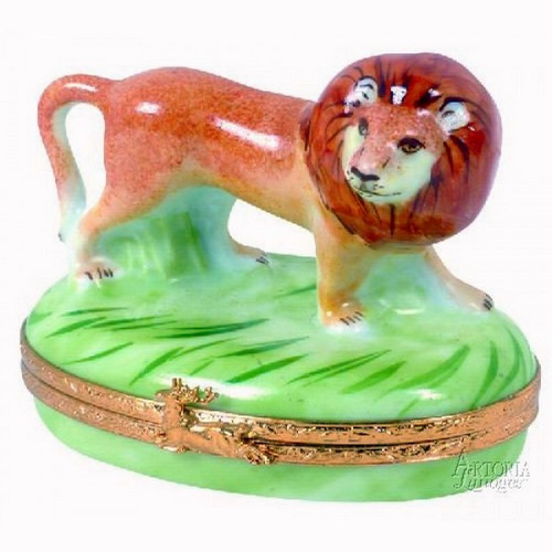 Artoria Lion Limoges Box