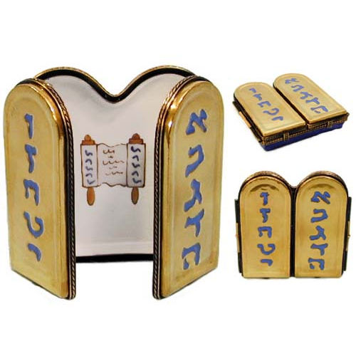 Chamart Ten Commandments Limoges Box