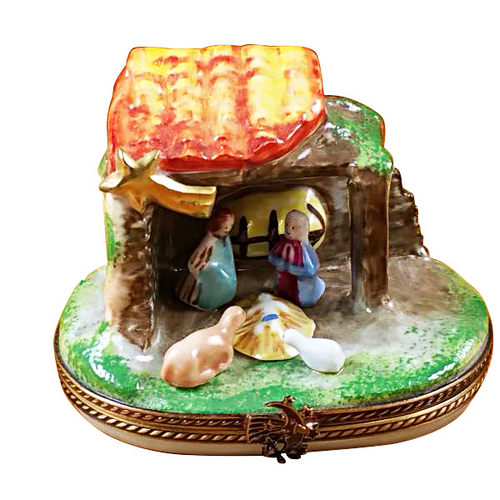 Rochard Nativity  Limoges Box