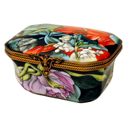 Rochard Studio Collection Tiger Lily Limoges Box