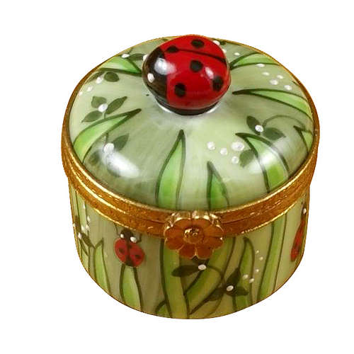 Rochard Ladybug in Grass Limoges Box