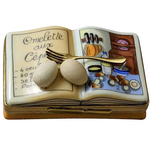 Rochard Cookbook - Omelet Limoges Box