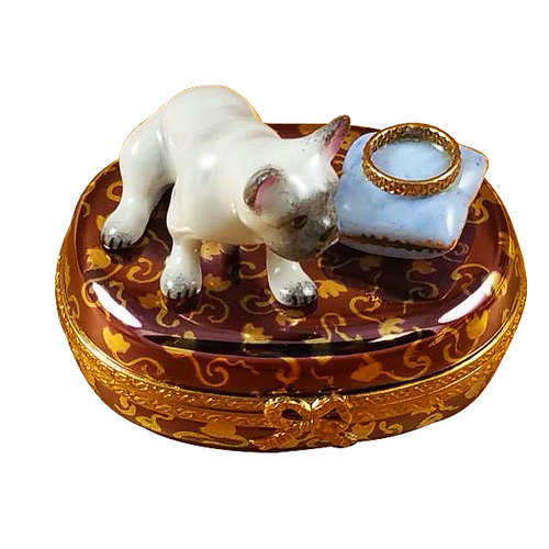 Rochard French Bulldog Limoges Box