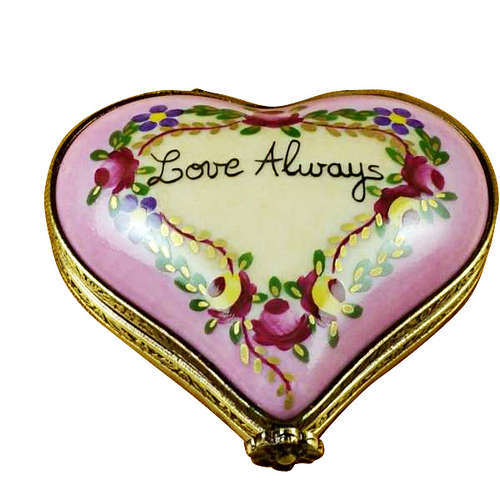 Rochard Heart - Love Always Limoges Box