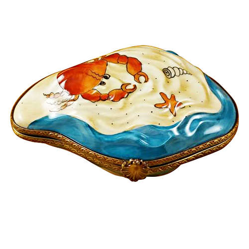 Rochard Oyster with Mermaid Limoges Box