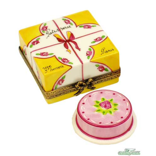Rochard Cake Box with Cake Limoges Box
