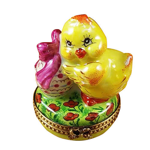 Rochard Easter Chick Limoges Box