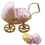Rochard Baby Carriage Pink