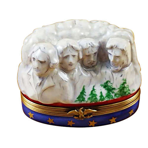 Rochard Mount Rushmore Limoges Box