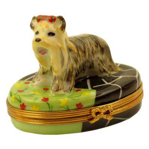 Rochard Terrier Limoges Box