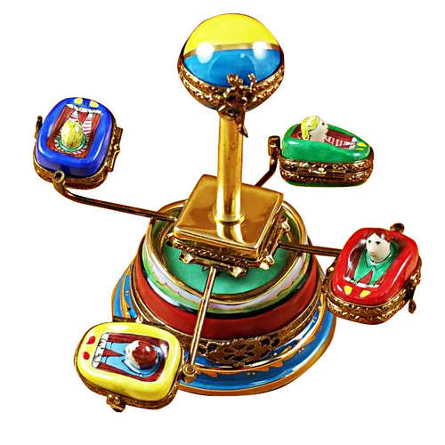 Rochard Amusement Ride Limoges Box