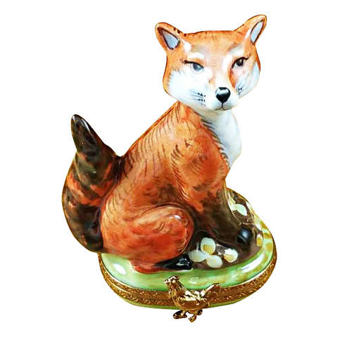 Rochard Fox Limoges Box