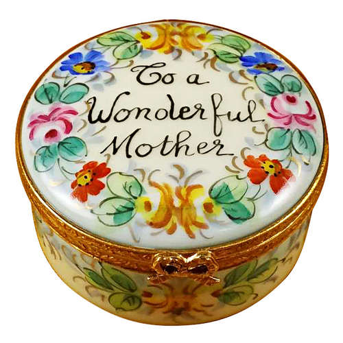 Rochard To a Wonderful Mother Limoges Box
