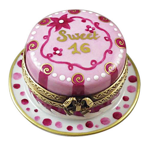 Rochard Sweet 16 Cake Birthday Cake Limoges Box