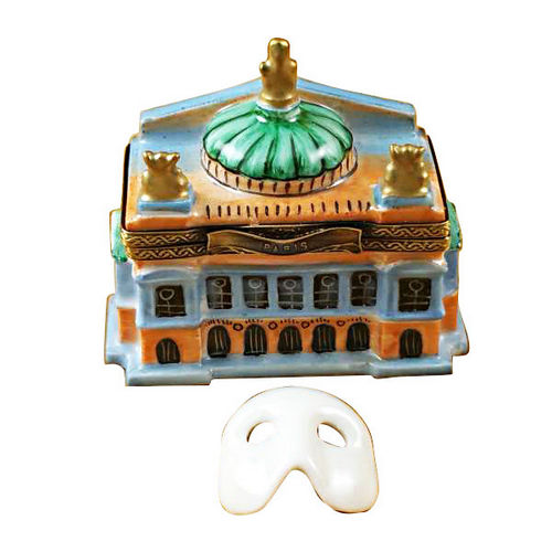 Rochard Small Paris Opera House Limoges Box
