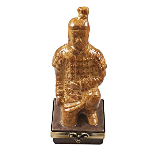 Rochard Terracotta Solider Limoges Box