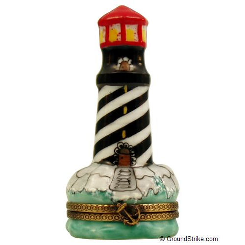 Chanille Lighthouse Limoges Box